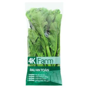Rau cải ngồng trồng thủy canh túi 500g