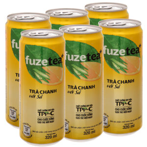 Trà chanh với sả Fuze Tea 320ml